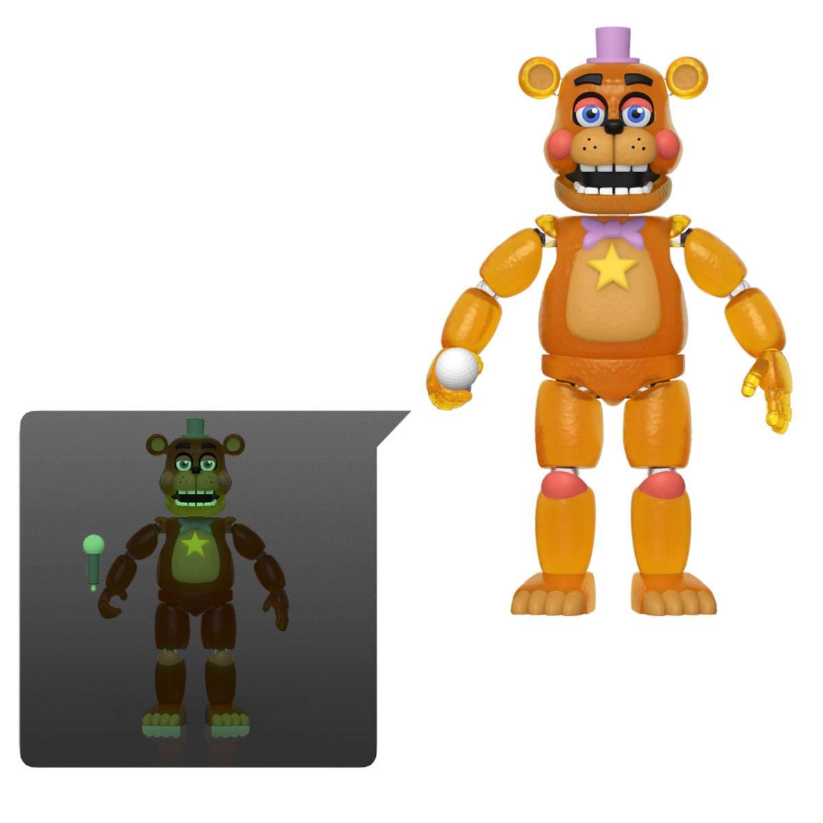 Five Nights at Freddy's Pizza Simulator Action Figure Rockstar Freddy (Translucent) 13 cm