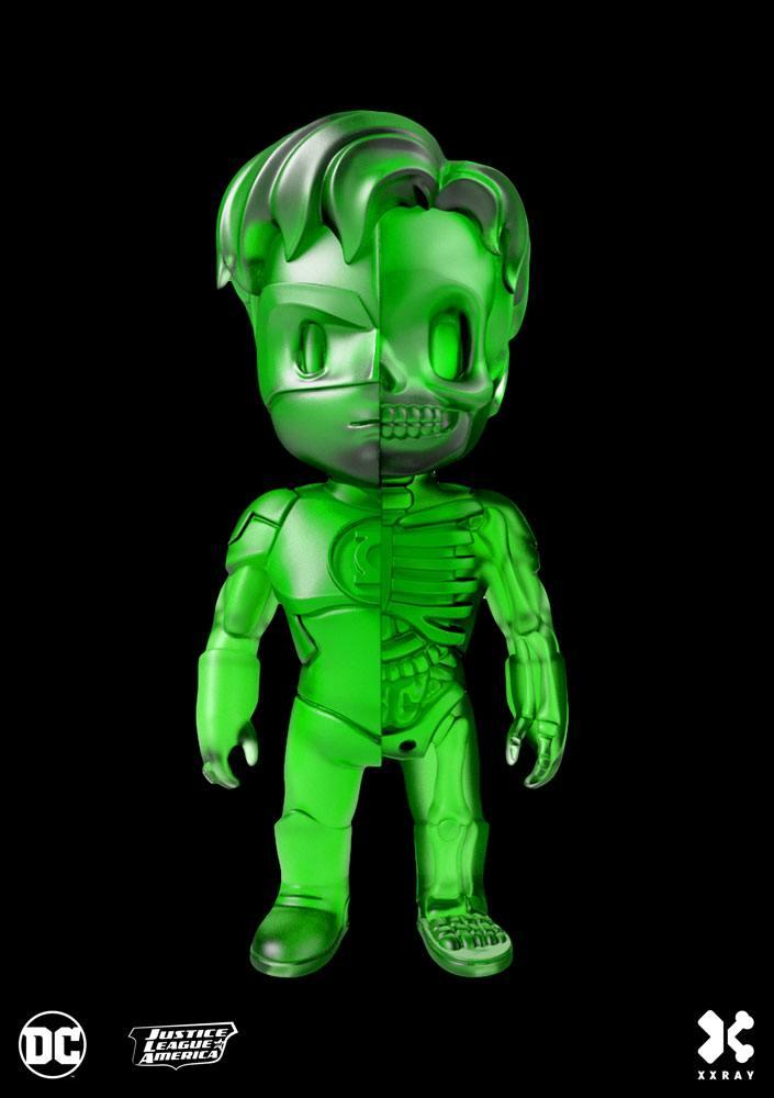 DC Comics XXRAY Figure Green Lantern Clear Green Edition 10 cm