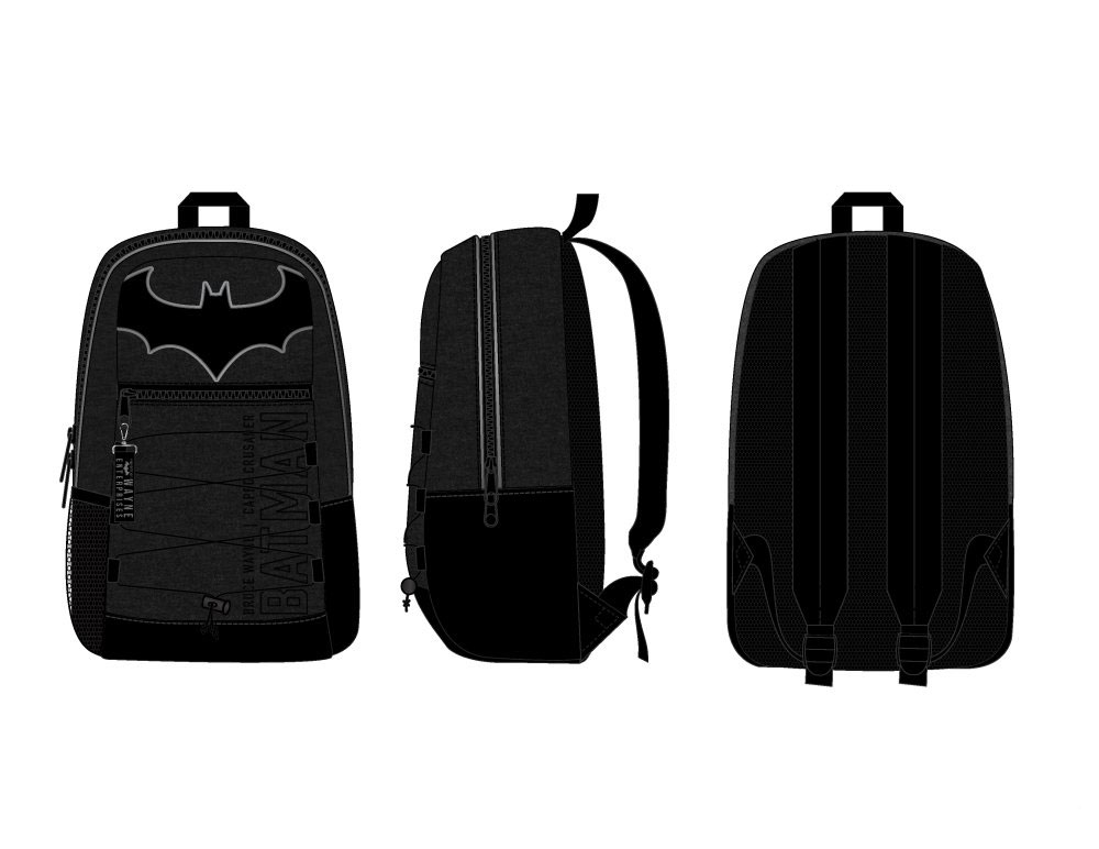 Batman Backpack Caped Crusader