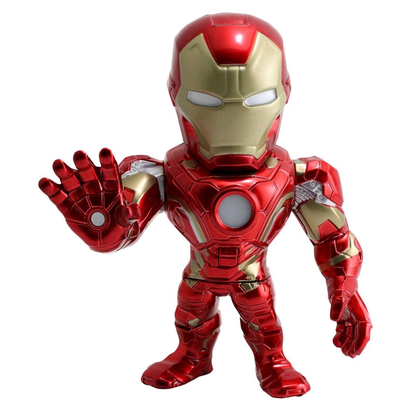 Marvel Metals Diecast Mini Figure Iron Man 15 cm