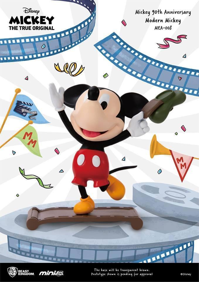 Mickey Mouse 90th Anniversary Mini Egg Attack Figure Modern Mickey 9 cm