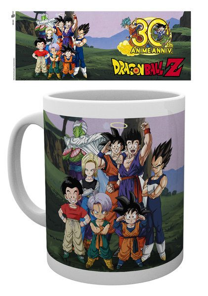 Dragonball Z Mug 30th Aniversary