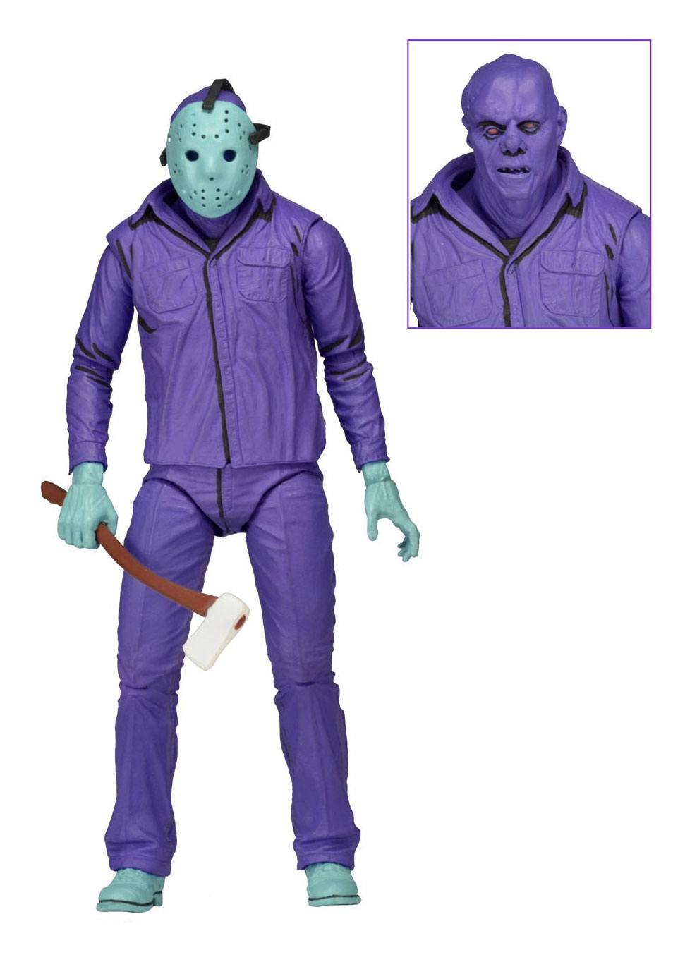 Friday the 13th Action Figure Jason Theme Music Edition (Classic Video Game Appearance) 18 cm