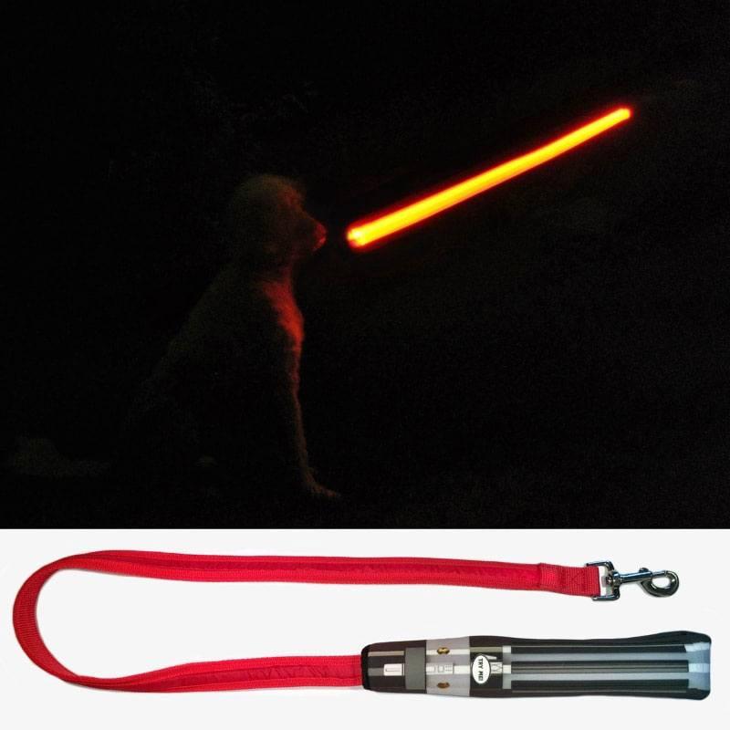 Star Wars LED Dog Lead Darth Vader Lightsaber