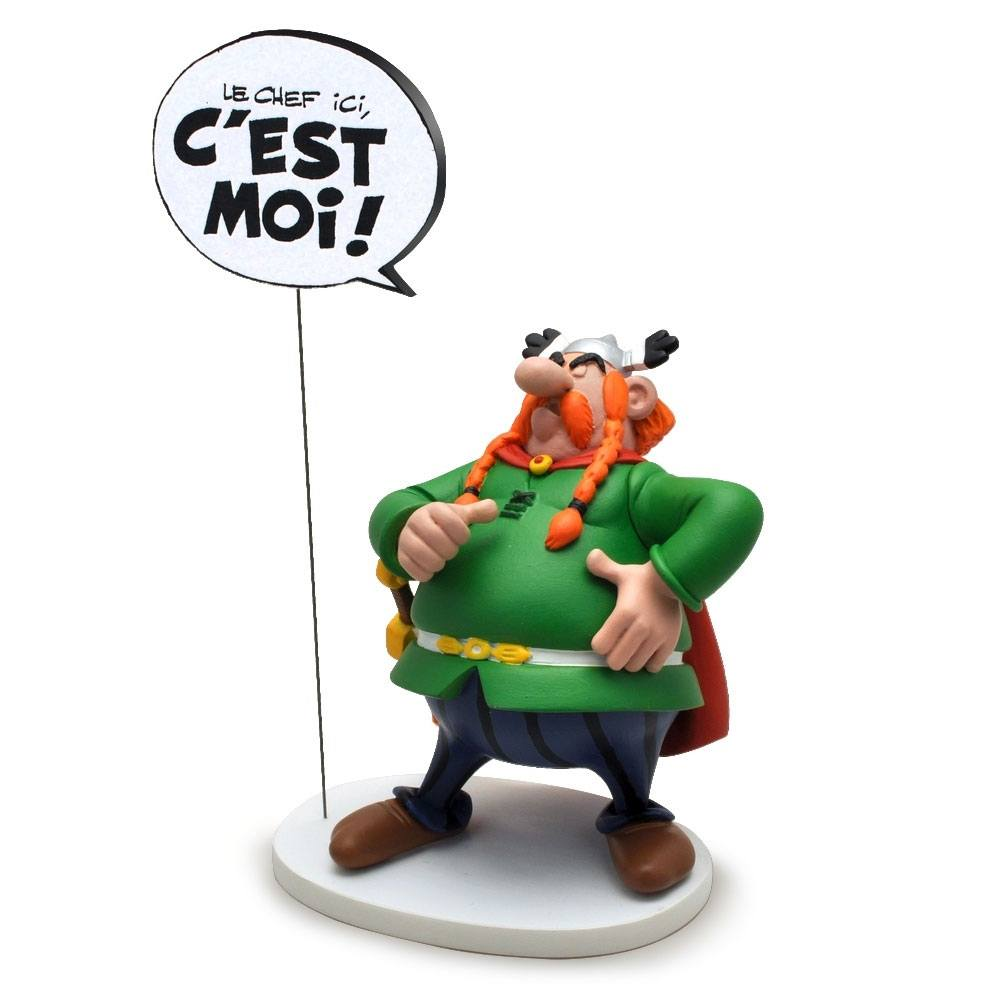 Asterix Collectoys Comics Speech Statue Majestix I am the Boss here! 18 cm *French Version*