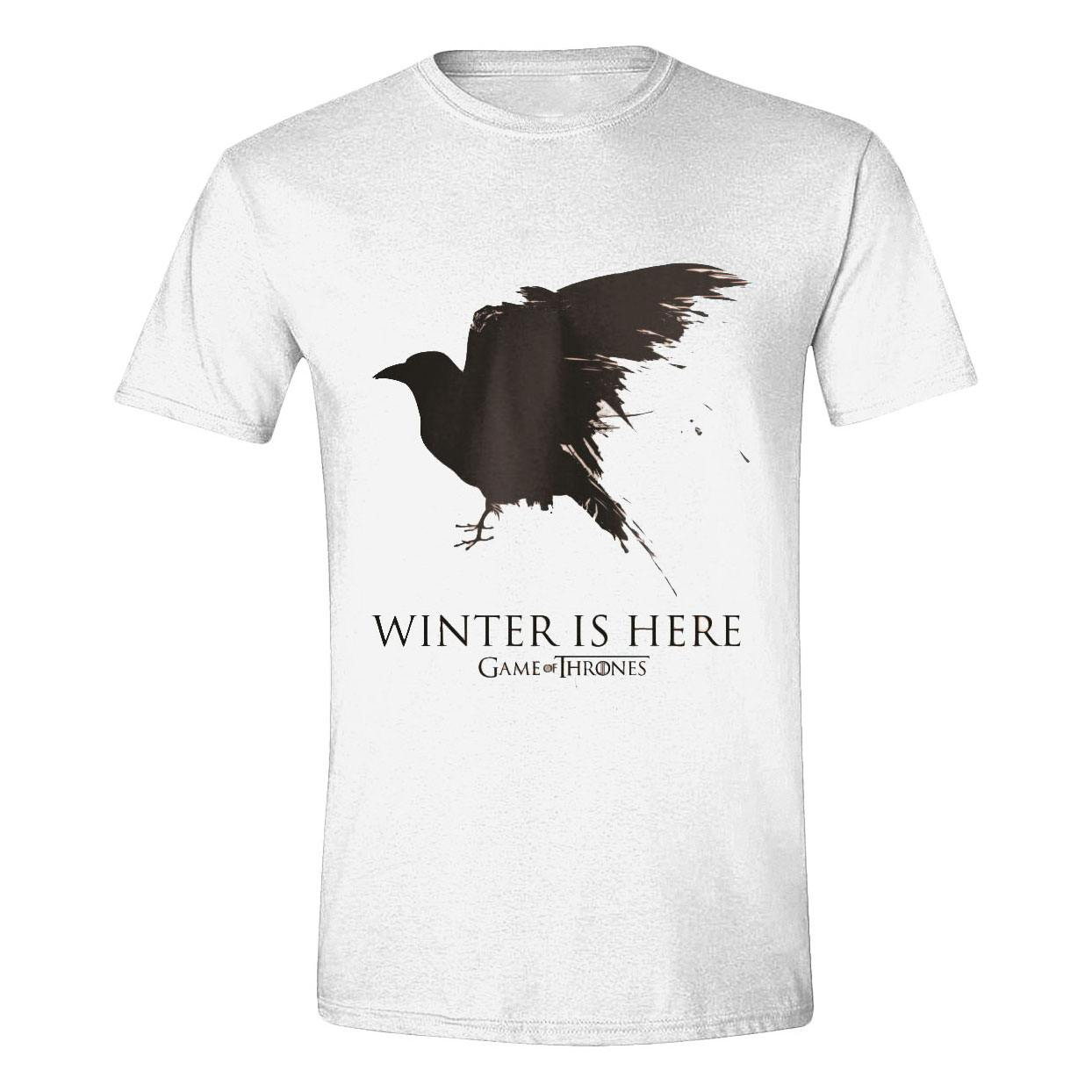 Game of Thrones T-Shirt Winter is here Size S