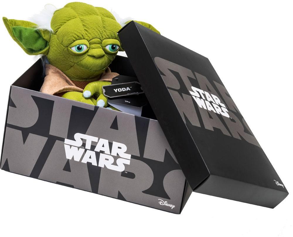 Star Wars Black Line Plush Figure Yoda 25 cm