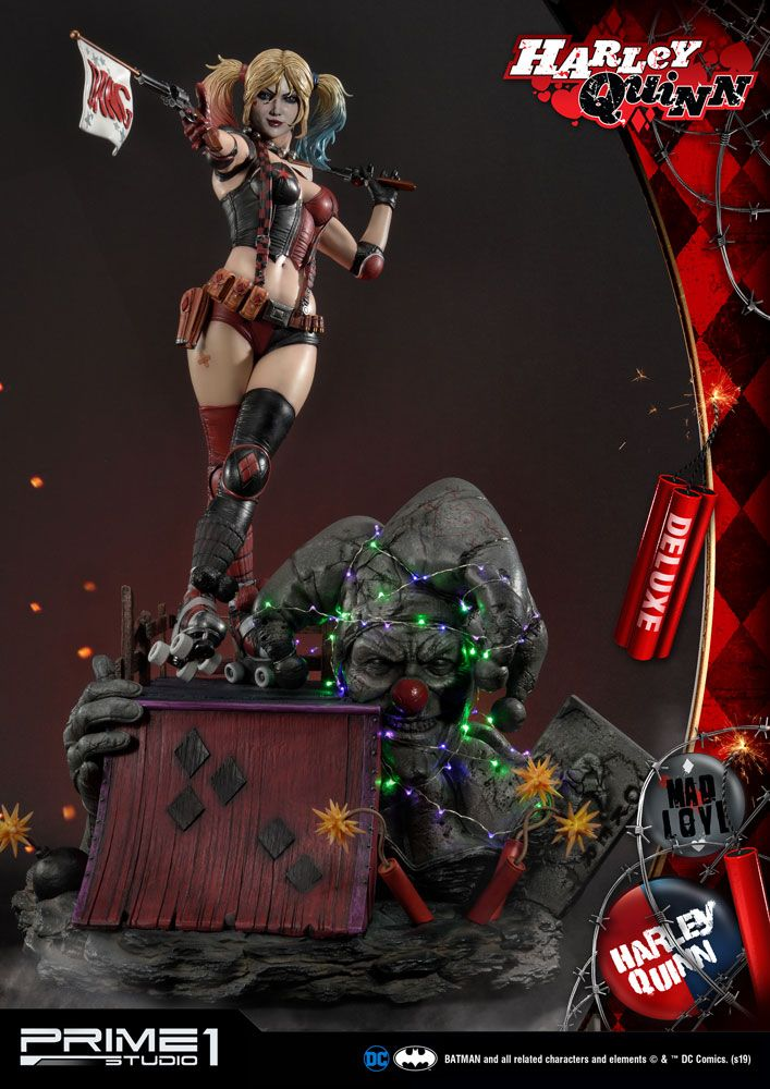 DC Comics Statue Harley Quinn Deluxe Ver. 91 cm