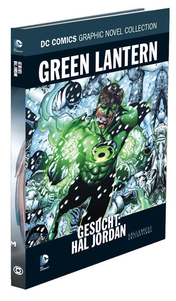 DC Comics Graphic Novel Collection #75 Green Lantern: Gesucht, Hal Jordan Case (12) *German Version*