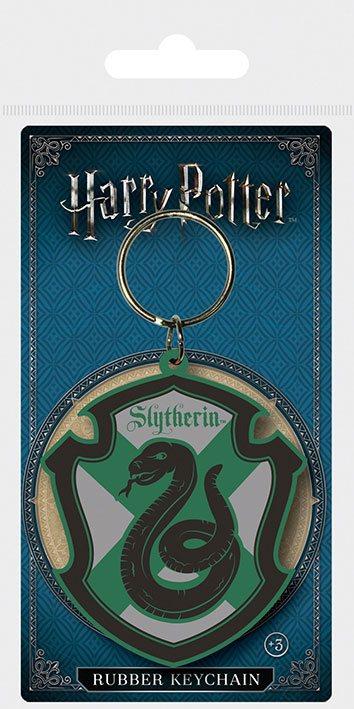 Harry Potter Rubber Keychain Slytherin 6 cm