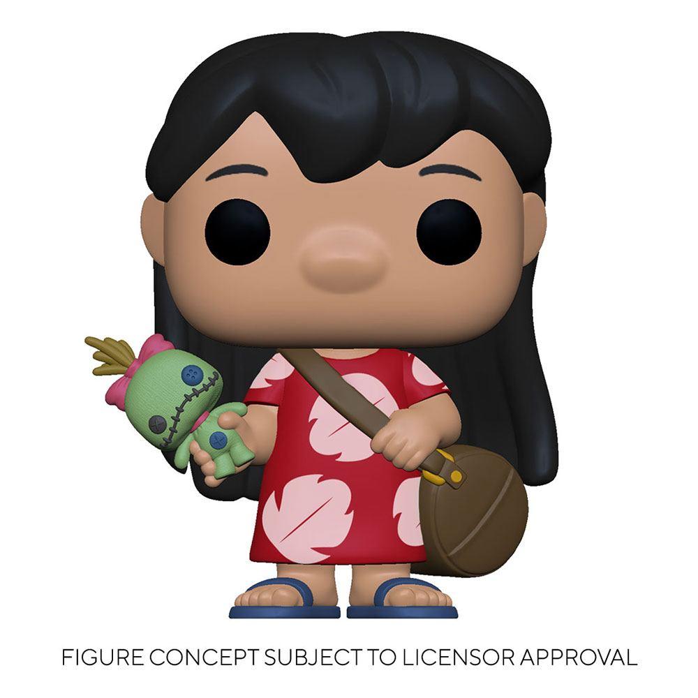 Lilo & Stitch POP! Disney Vinyl Figure Lilo w/Scrump 9 cm