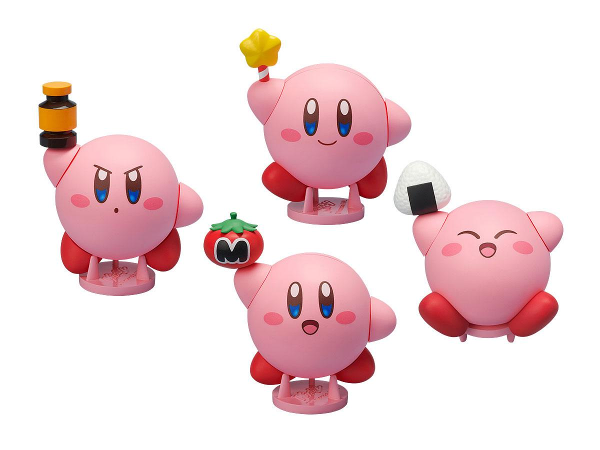 Kirby Corocoroid Buildable Collectible Figures 6 cm Assortment (6)
