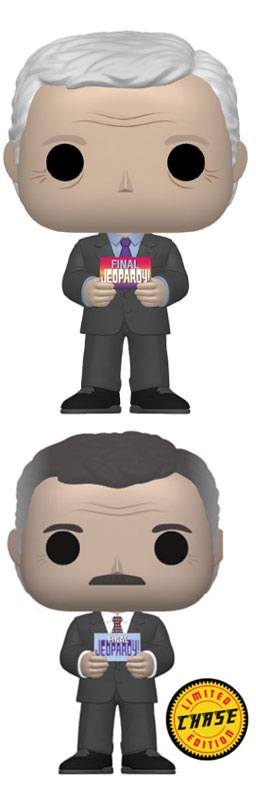 Jeopardy! POP! TV Vinyl Figures Alex Trebek 9 cm Assortment (6)