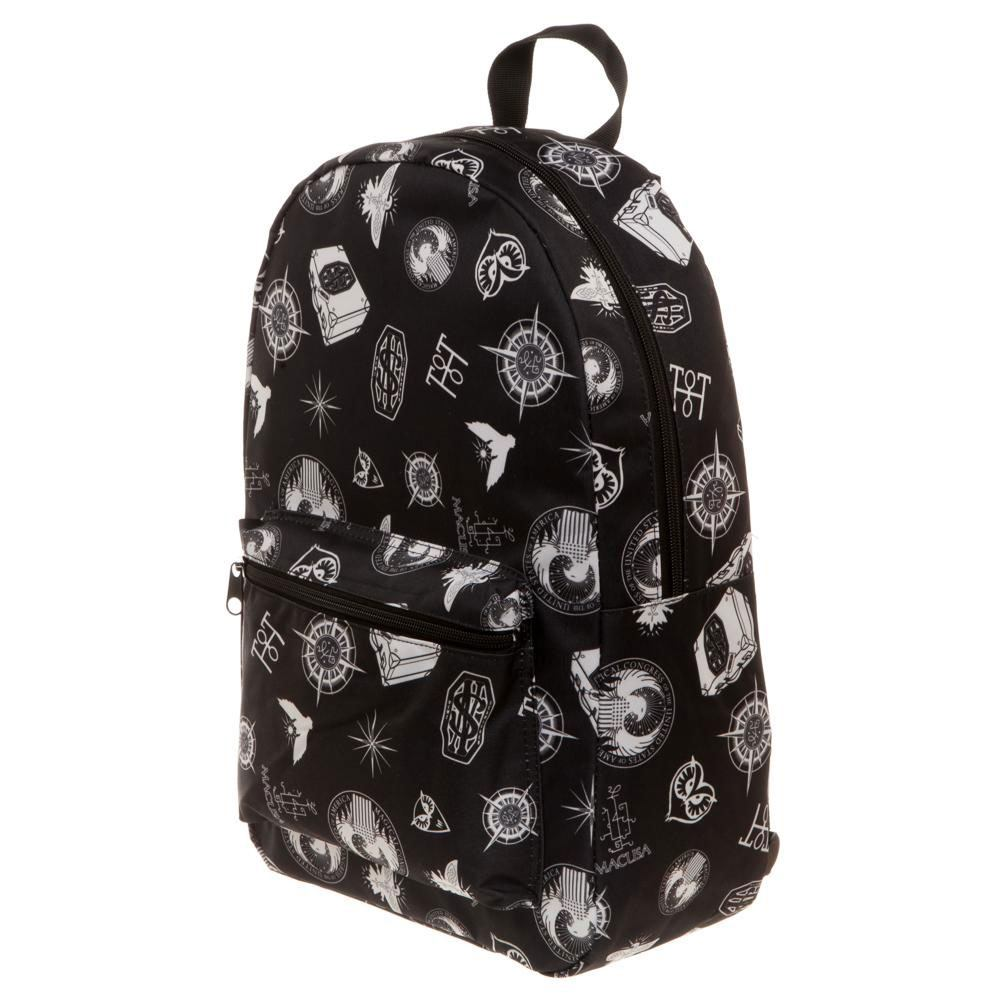 Fantastic Beasts Backpack Bag Symbols