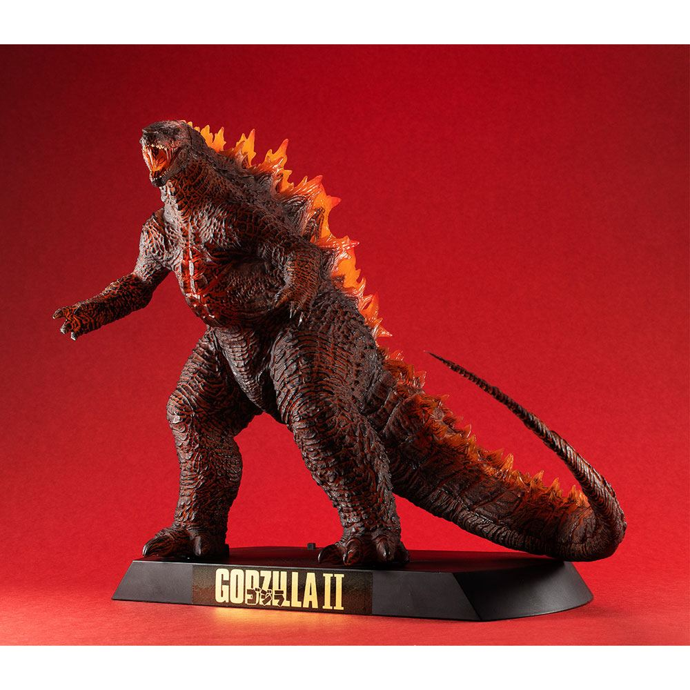 Godzilla 2: King of Monsters Light-Up Ultimate Article Monsters Figure Burning Godzilla 30 cm
