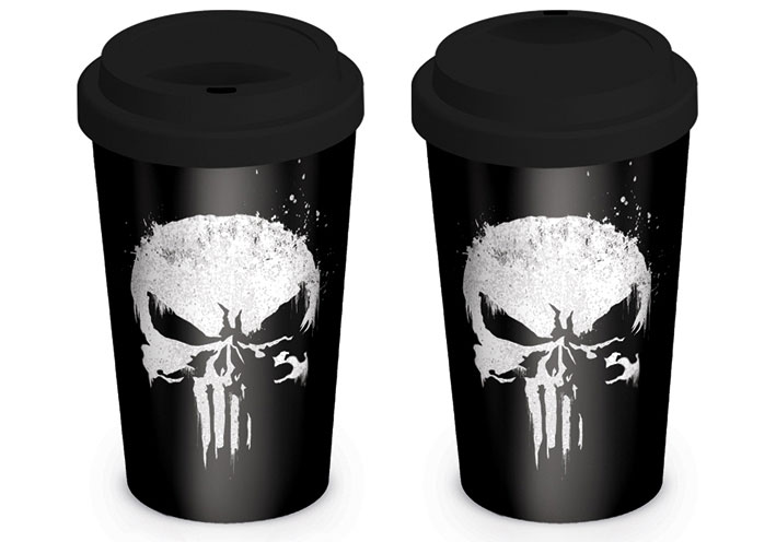 The Punisher Travel Mug Skull