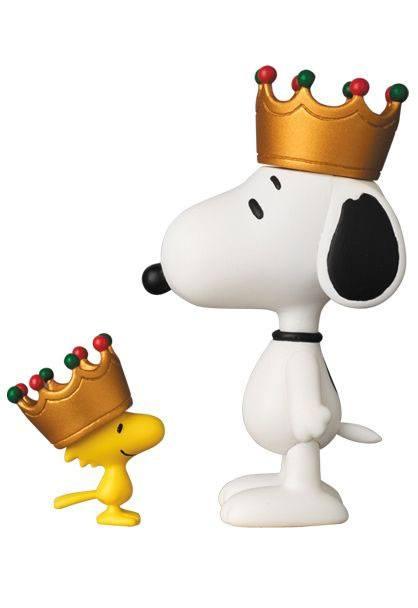 Peanuts UDF Series 5 Mini Figures Crown Snoopy & Woodstock 8 - 3 cm