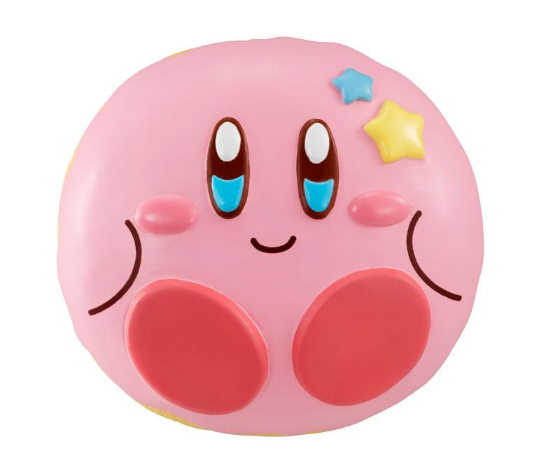 Kirby Super Star Donut Shop Squeeze Anti-Stress Figure Kirby 8 cm