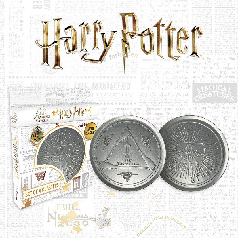Harry Potter Coaster 4-Pack Leaky Cauldron