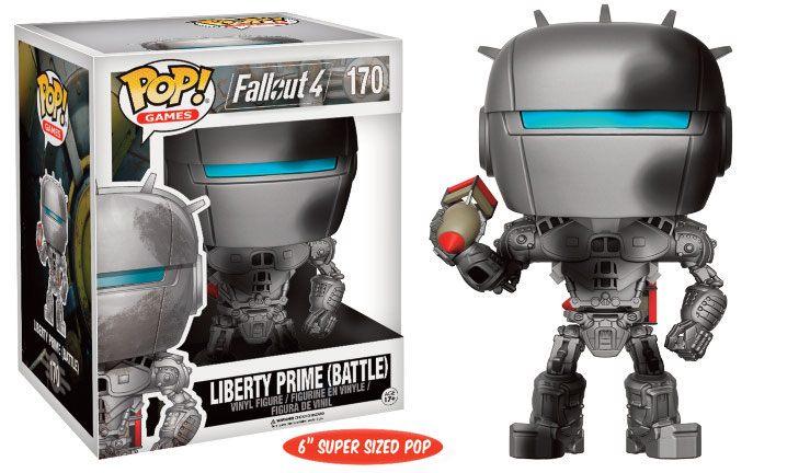 Fallout 4 Super Sized POP! Games Vinyl Figure Liberty Prime (Battle) 15 cm
