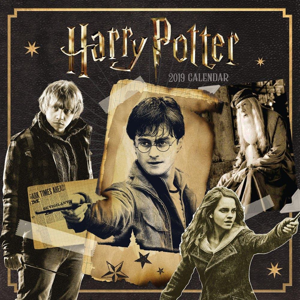 Harry Potter Calendar 2019 English Version*