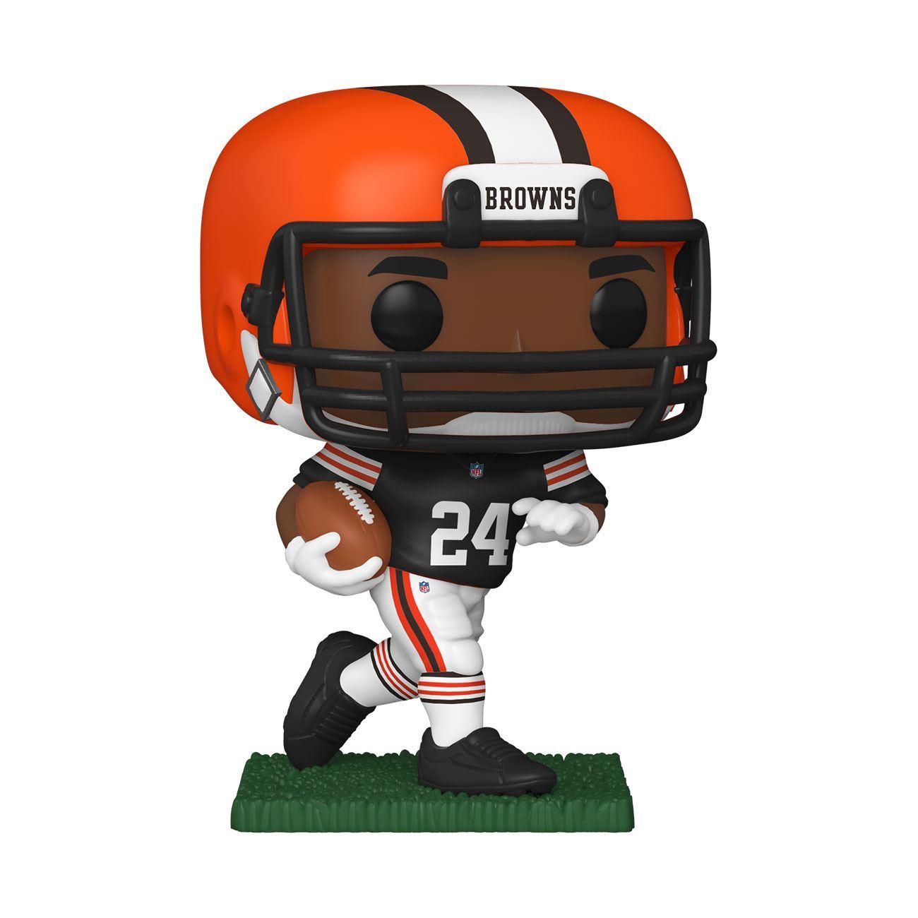 NFL POP! Sports Vinyl Figure Nick Chubb (Cleveland Browns) 9 cm