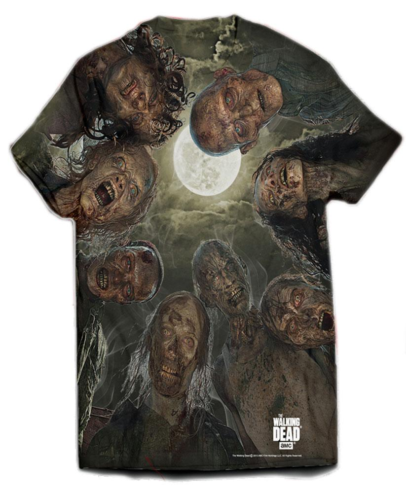 Walking Dead T-Shirt Walk Over You Size XL