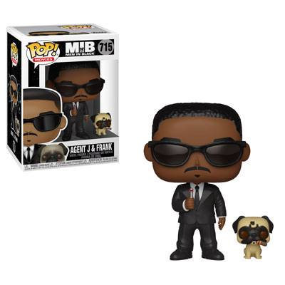 Men in Black POP! Movies Vinyl Figure Agent J & Frank  9 cm