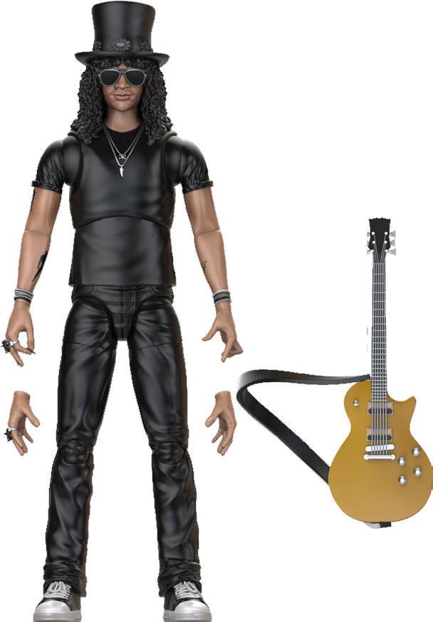 Guns N' Roses BST AXN Action Figure Slash 13 cm