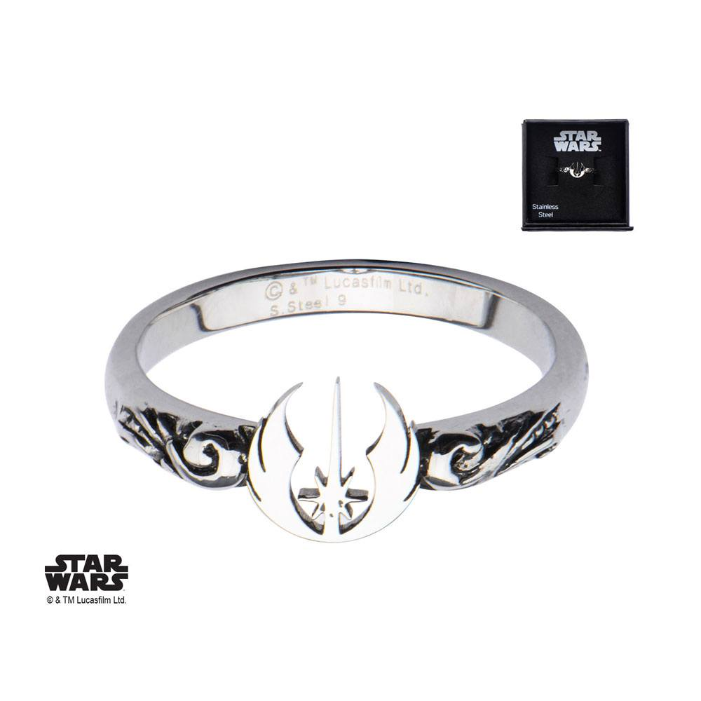 Star Wars Ring Jedi Symbol  Size 09