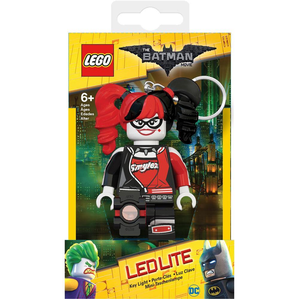 Lego Batman Movie Mini-Flashlight with Keychains Harley Quinn