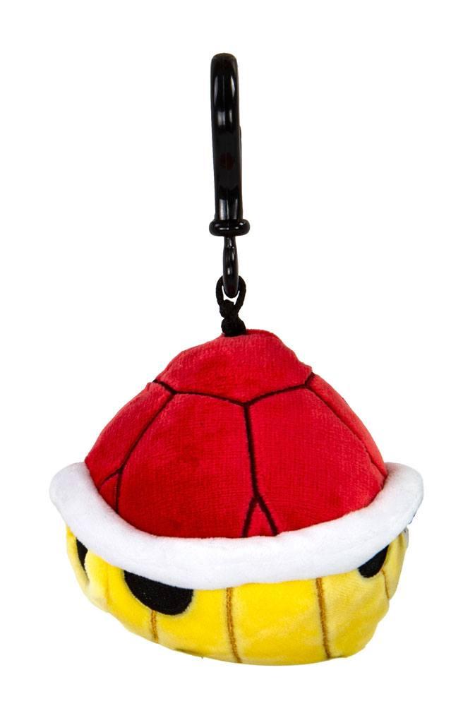 Mario Kart Mocchi-Mocchi Clip On Plush Hanger Red Shell 10 cm