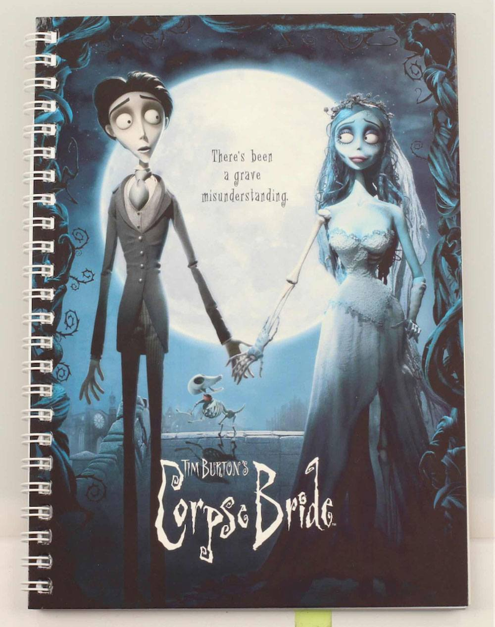 Corpse Bride Notebook Movie Poster