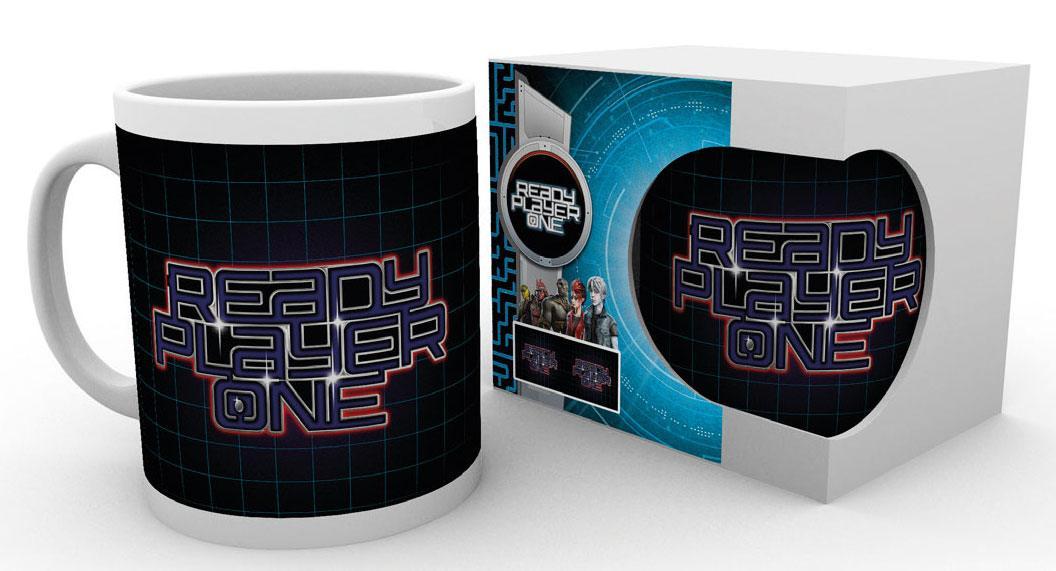Ready Player One Mug Logo