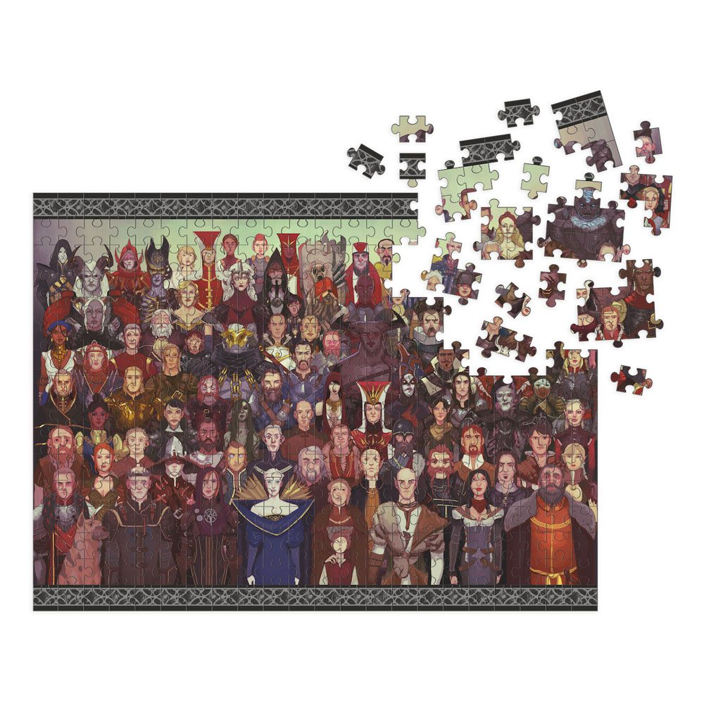 Dragon Age Jigsaw Puzzle Cast of Thousands (1000 pieces)