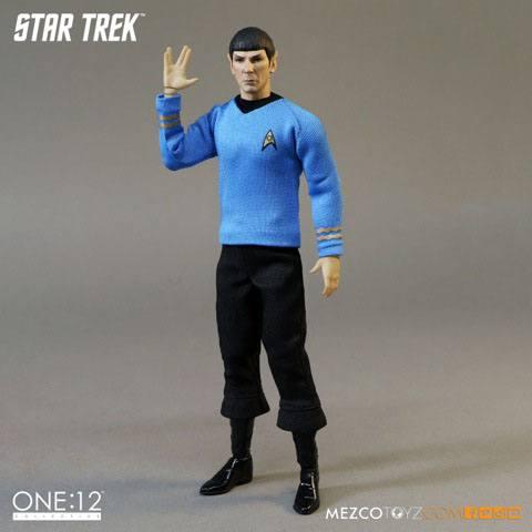 Star Trek Action Figure 1/12 Spock 15 cm