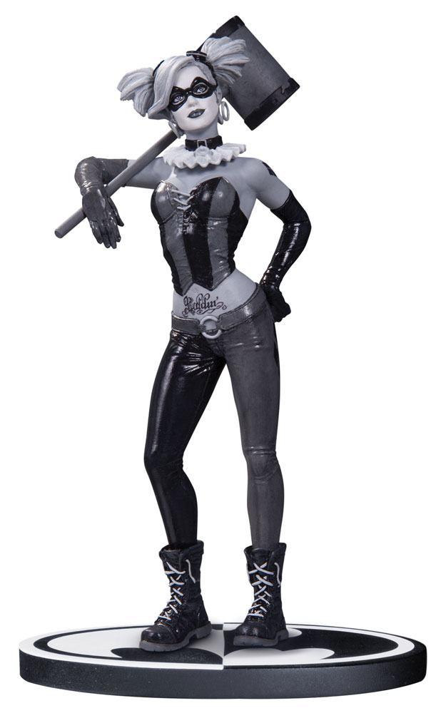 Batman Black & White Statue Harley Quinn by Lee Bermejo 19 cm
