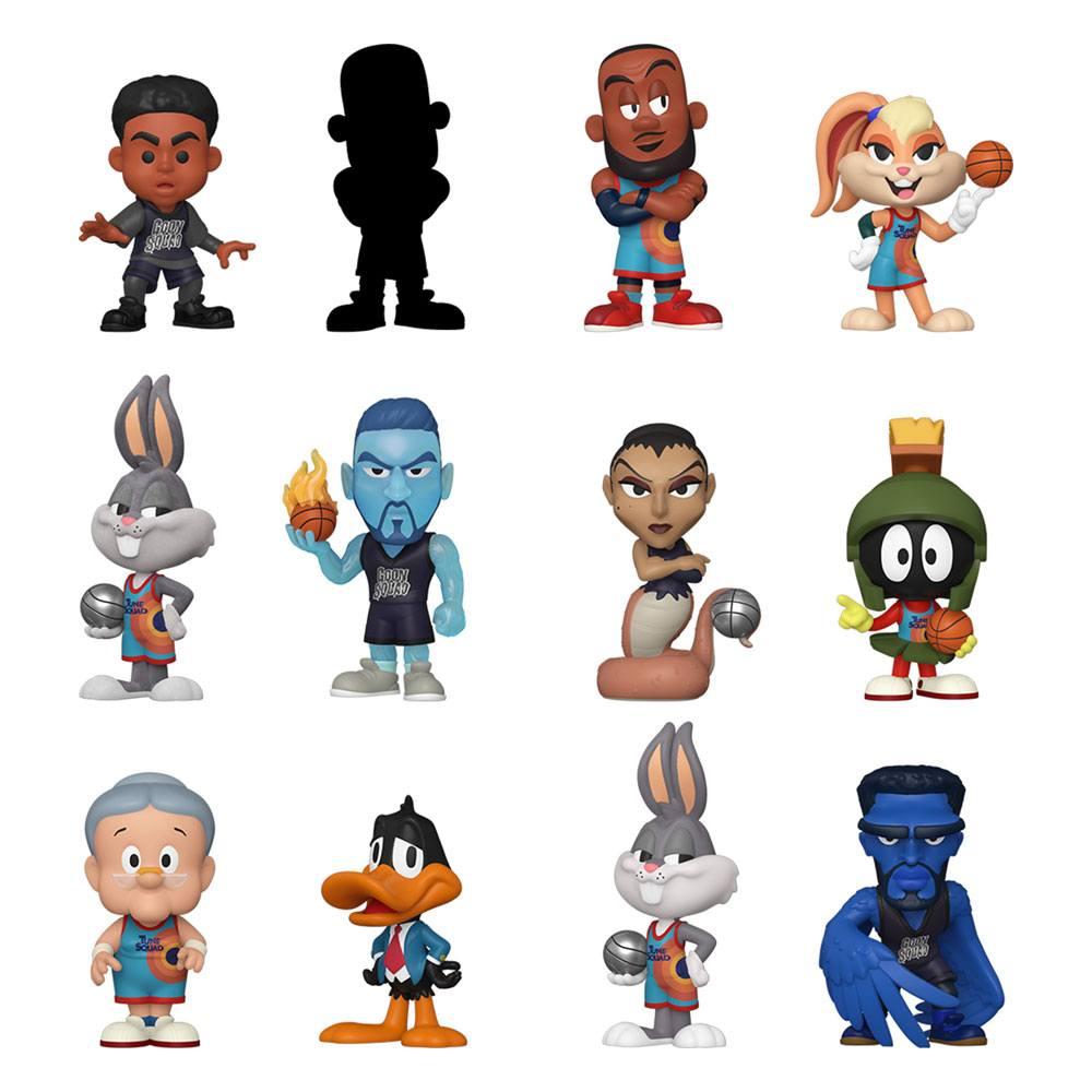 Space Jam 2 Mystery Mini Figures 5 cm Display (12)