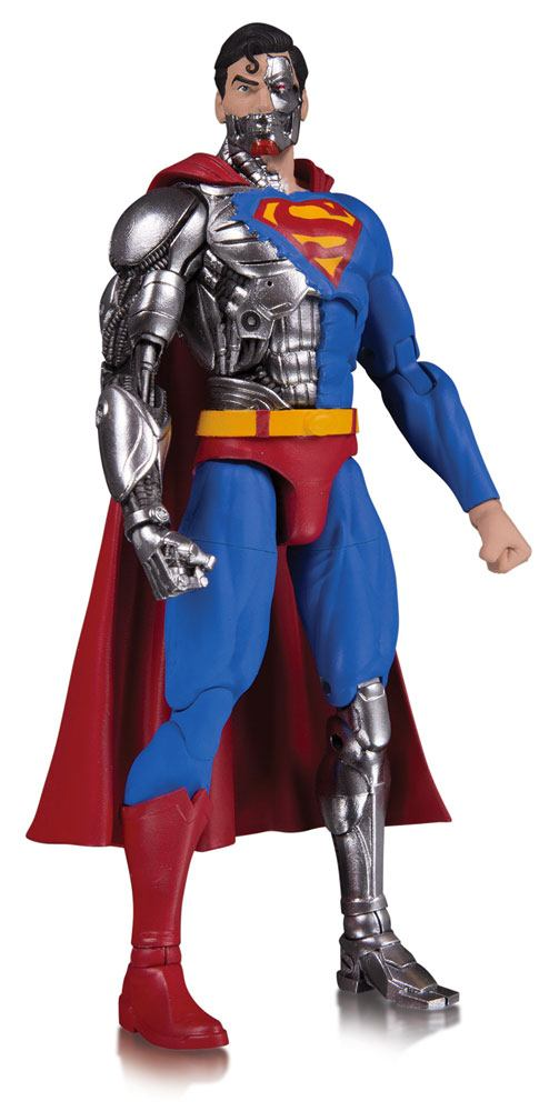 DC Essentials Action Figure Cyborg Superman 17 cm