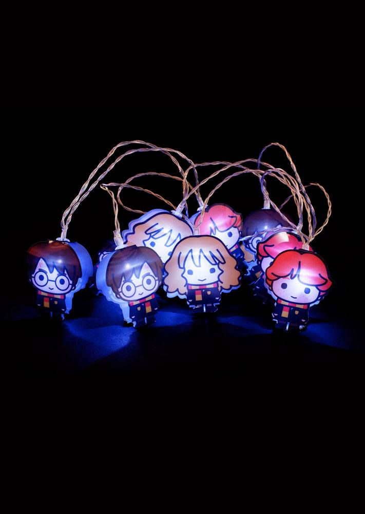 Harry Potter 2D String Lights Kawaii Characters