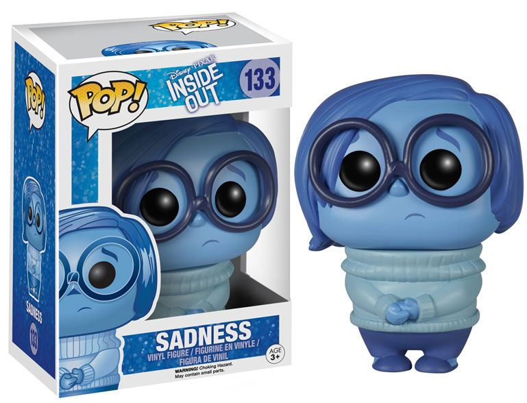 Inside Out POP! Vinyl Figure Sadness 9 cm