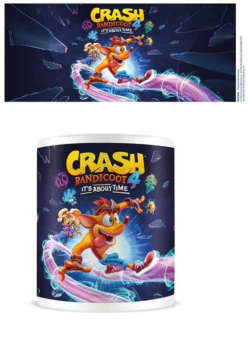 Crash Bandicoot 4 Mug It's About Time