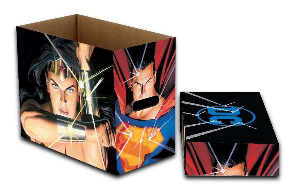 DC Comics Storage Boxes Bulletproof 23 x 29 x 39 cm Case (5)