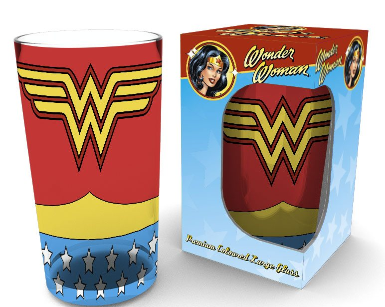 Wonder Woman Premium Pint Glass Costume