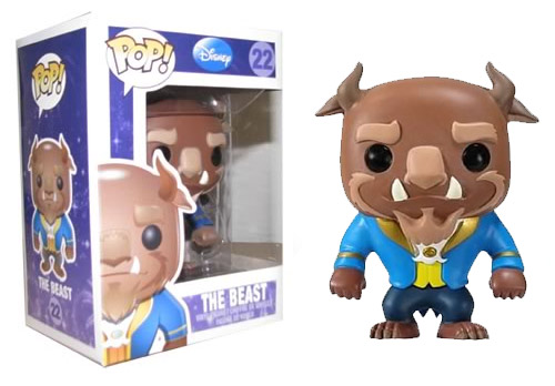 Beauty and the Beast POP! Vinyl Figure Beast 10 cm