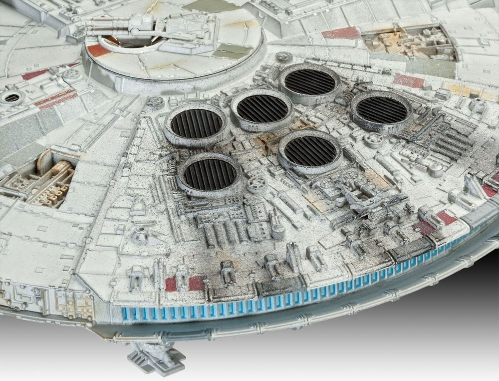 Star Wars Level 5 Model Kit 1/144 Millennium Falcon Limited Edition 22 cm --- DAMAGED PACKAGING