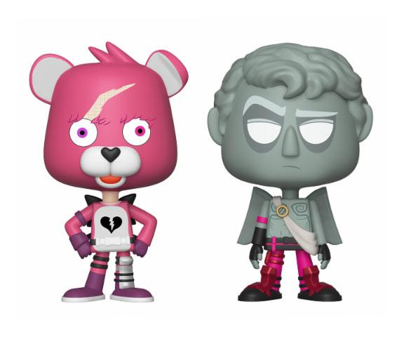 Fortnite VYNL Vinyl Figures 2-Pack Cuddle Team Leader & Love Ranger 10 cm