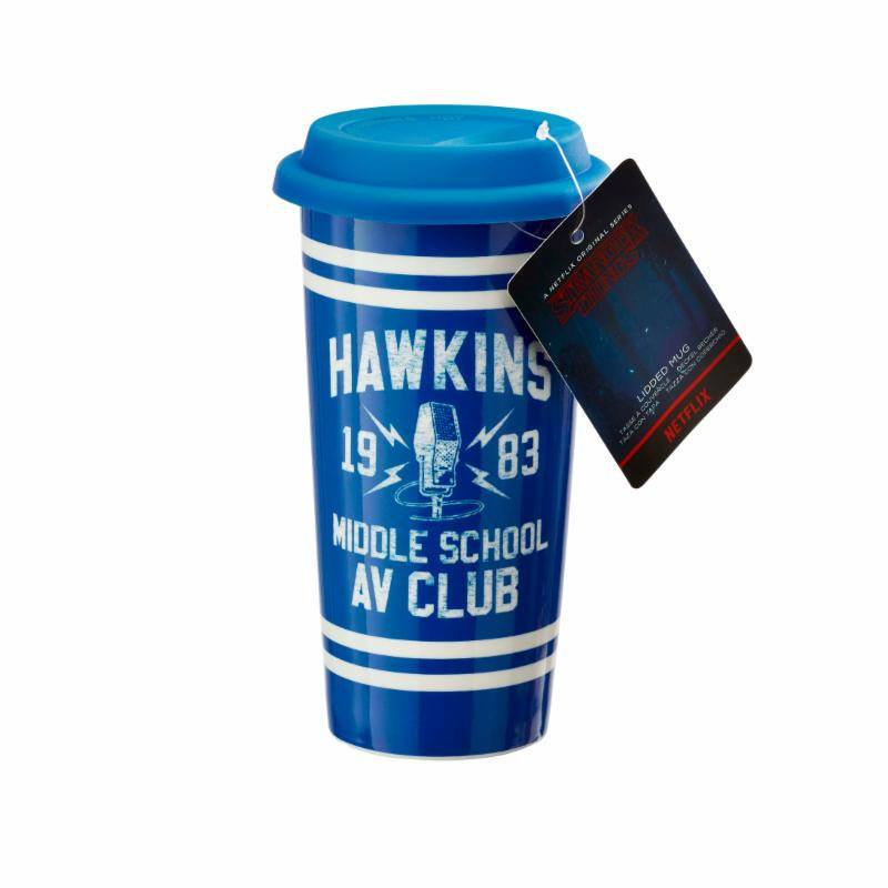 Stranger Things Travel Mug Hawkins AV Club