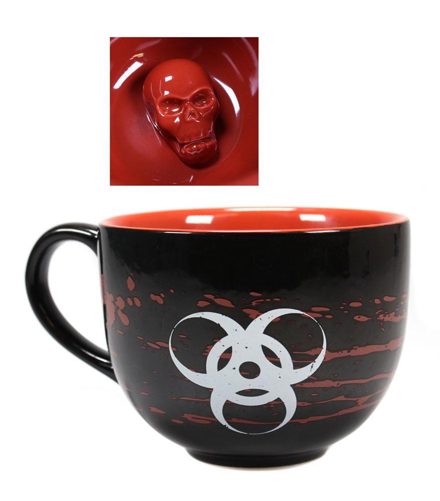 Resident Evil Hidden 3D Mug Skull