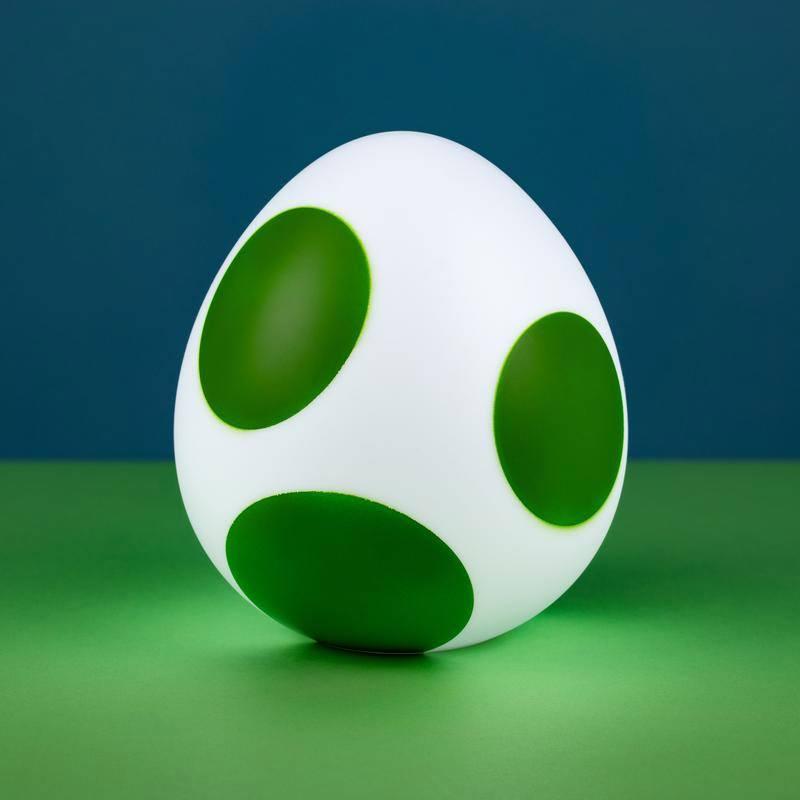 Super Mario 3D Light Yoshi Egg 10 cm